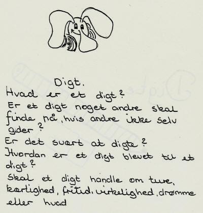 et digt